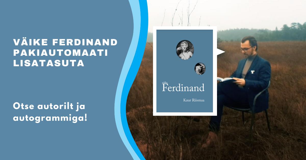 Väike Ferdinand - pakiautomaati lisatasuta